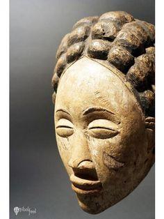 Mukudj Mask, Punu, Gabon, Africa