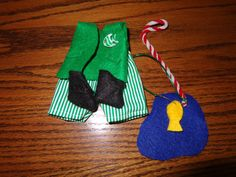 Fishing Outfit For Christmas Elf by missminniecrafts on Etsy, $10.00