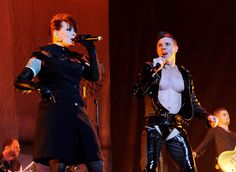 Jake Shears - Lady Gaga And The Scissor Sisters Perform At The Staples Center