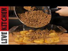 Γρήγορο & Πεντανόστιμο φαγητό για όλη την Οικογένεια - Φτιάξτε το και θα το Λατρέψετε ! - YouTube Mince Meat, Greek Recipes, Kitchen Living, Food And Drink, Sweets, Beef, Meals, Sausages, Cooking