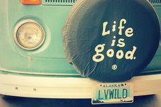 volkswagen bus   Tumblr - want this tire cover for mine!