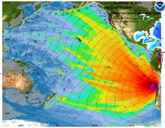 Maximum tsunami wave height generated by the 16 Sept. 2015 Chile earthquake, from the International Tsunami Information Center