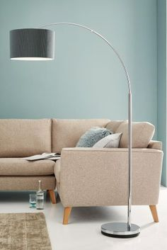 Add a statement to your home this summer with lighting! This curve arm floor lamp is the perfect piece for the modern home.