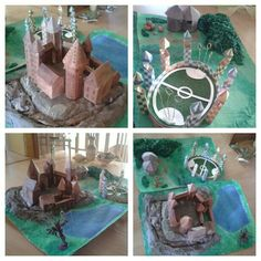#homemade #diy #project #Harry #Potter #Hogwarts #details #HarryPotter #Castle #model #