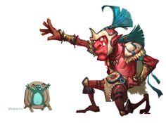 #Dota2 Dota2 Funny, Got Characters, Games Images, Monster Design, Dota 2, Cartoon Styles, Online Games, Designs To Draw, Troll