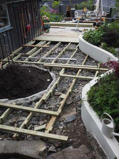terrassen-bygging