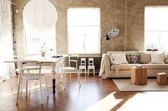 interior stylist Daniella Witte I love this Style At Home, Home Living Room, Living Spaces, Living Area, Interior Architecture, Interior And Exterior, Swedish Interiors, Decor Inspiration, H & M Home