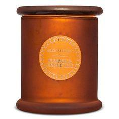Pumpkin & Ginger Leaf Suction Lid Candle