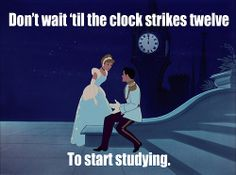 Don't wait to start researching, either!