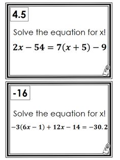 math worksheet : 1000 images about equations inequalities on pinterest  solving  : Multiple Step Equations Worksheet