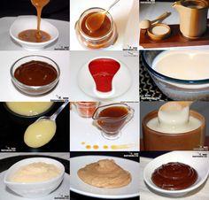 Recetas de salsas para postres