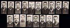A very rare set of 18 real photo trade cards of Wolverhampton Wanderers players for the 1927-28 season, published by Arcade Studios with advertisement for Paulton's Printers, both of Wolverhampton, player portraits comprising Legge, Botto, Phillipson, Charnley, W. Weaver, Latham, Bowen, Dee, Baxter, W.J. Williams, Watson, Higham, R. Weaver, Fox, Cock, Pritchard, L. Williams & Richards
