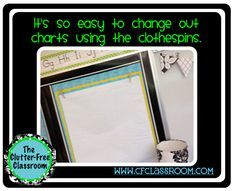 Place for anchor charts