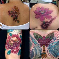 Tatuagens tradicionais por Elisandro Calheiros