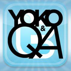 Yoko QandA day – Fridays on Twitter. I cannot believe Yoko answered my question! Feeling special!!