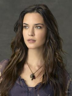 Still of Odette Annable in October Road