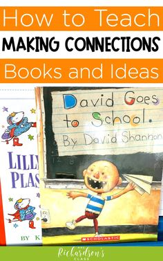 Check out these mentor texts, activities, sentence stems, and anchor chart ideas to help you teach making connections. You can use read alouds to help students learn and understand how to use reading strategies. You'll help build reading comprehension with these engaging activities! #Reading #Literacy #FirstGrade #SecondGrade