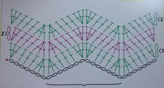 chevron pattern...there's no picture to pin but follow the link.