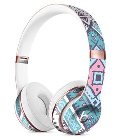 Tribal Vector Ethnic Pattern v3 Full-Body Skin Kit for the Beats by Dre Solo 3 Wireless Headphones