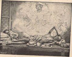 Pagina met informatie over de indische boekjes met illustraties van Cornelis Jetses. Indonesian Art, Green Paper, Cornelius, Outfits With Hats, Southeast Asia, Java, Painting Inspiration, Ps, Illustrator