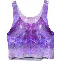 Amethyst Crop Tops ($37) ❤ liked on Polyvore featuring tops, crop top, purple crop top, purple top and cut-out crop tops