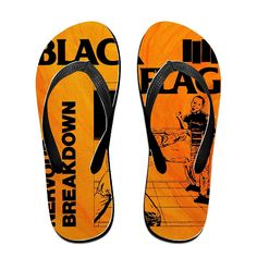 TOPNN Black Flag Nervous Breakdown Slipper Flip-Flops >>> Read more reviews of the product by visiting the link on the image.