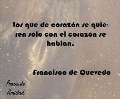 Frases de amor de escritores de Francisco de Quevedo