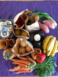 Paper bags gave me that warm, fuzzy feeling Paper Bags, Carrots, Eve, Stuffed Mushrooms, Warm, Fresh, Vegetables, Food, Stuff Mushrooms