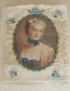One of a Kind Farbric Album Antique & Vintage by KISoriginals