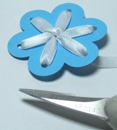 Angel Stamper 2: Ribbon Flower Tutorial