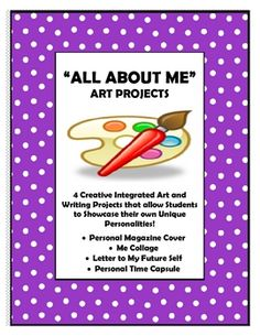 All About Me - 4 Integrated Art and Writing Projects
