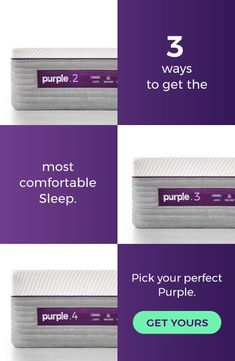 The Purple® Mattress adapts to the human body for personalized comfort. Free shipping and returns with a 100-night trial.