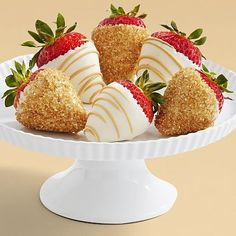 Half Dozen Hand-Dipped Champagne Strawberries and other chocolates & gifts at berries.com