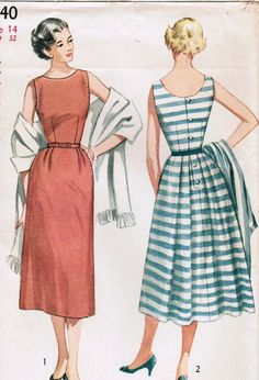 1953 Simple and easy. Use great fabric.