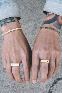 The quality and construction of these rings are unreal!rn