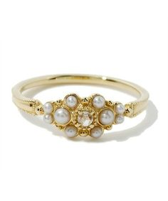 Cute pearl ring - Agete Japan