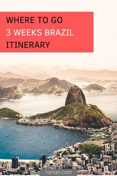 Three weeks across the country with Rio de Janeiro, the wetlands in the Pantanal and beaches in Bahia. South America Destinations, South America Travel, Travel Destinations, Cool Places To Visit, Great Places, Amazing Places, Map Pictures, Iguazu Falls, Brazil Travel