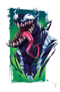 Venom by GhostHause / The Art of J Hause - http://ghosthause.storenvy.com/