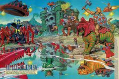 Masters Of The Universe - 27 (painting by Earl Norem)
