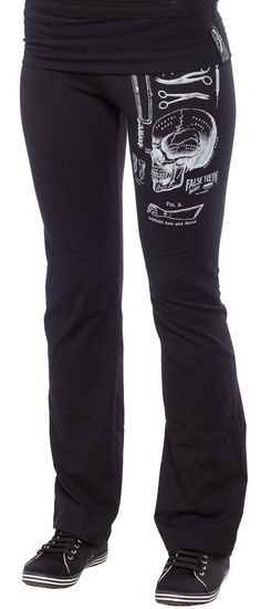 SE7EN DEADLY MEDICAL MALPRACTICE HANGOVER PANTS $36.00 #se7endeadly #pants #medical #vintage #macabre