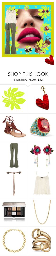 """""""Earth Day Vibes"""" by janetvera ❤ liked on Polyvore featuring Edie Parker, Sigerson Morrison, Kenneth Jay Lane, Figue, Les Néréides, Lovers + Friends, Topshop, Givenchy, Bianca Pratt and Laundry by Shelli Segal"""