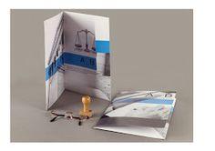 impression de pochette a rabats quadri avec encoche porte carte de visite. en vente sur www.store.signpub.fr