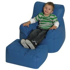 Cozy Kids Chair and Ottoman