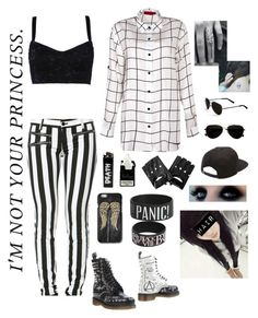 """""""Bored AF!!!!!"""" by supernaturalcliche ❤ liked on Polyvore featuring Dolce&Gabbana, Boohoo, Dr. Martens, Vans and Calvin Klein"""