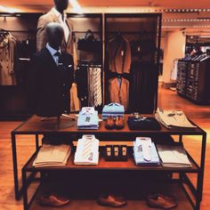 Men's style visual merchandising marks and Spencer