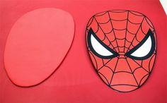 Fondant figurine: How to make Spiderman fondant motive tutorial