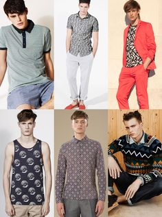 Geometric patterns, reminiscent of the Coogi sweaters of the early 90's (think Bill Cosby), also top the racks of ASOS and other top deisgners.