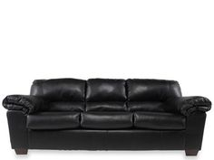 Merveilleux ASH 6450038   Ashley Commando Black Sofa | Mathis Brothers Furniture    Maybe For My
