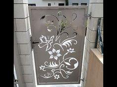 Portillon Grill Gate Design, Steel Gate Design, Front Gate Design, Main Gate Design, House Gate Design, Door Gate Design, Metal Garden Gates, Metal Gates, Iron Gates