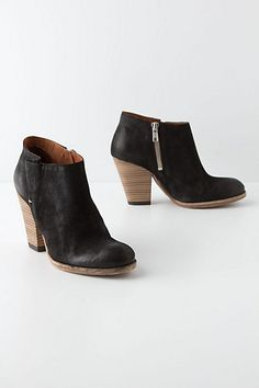 Fluted Booties #anthropologie